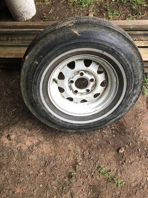Trailer tire &rim for Sale in Piedmont, SC