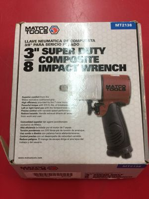 """Matco tools 3/8"""" super duty impact wrench for Sale in Nashville, TN"""