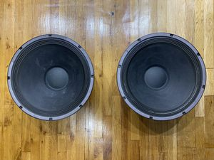 """(2) 18"""" Eminence Woofers Dj Equipments for Sale in Queens, NY"""