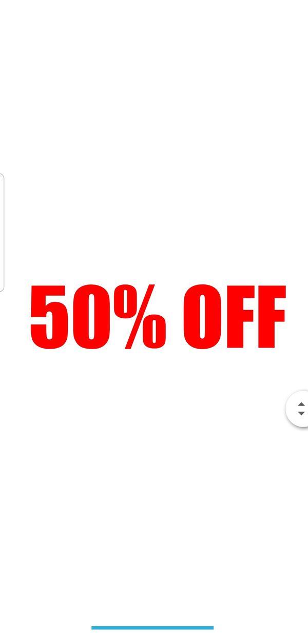 Tool's 50% OFF (see description)