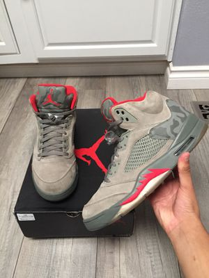 Nike air Jordan 5 retro camp P51 size 12 OG ALL for Sale in Federal Way, WA