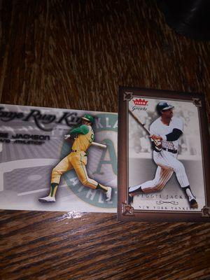 Reggie jackson rare cards for Sale in Wichita, KS