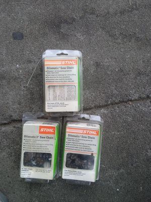 Chainsaw chains new for Sale in Stockton, CA
