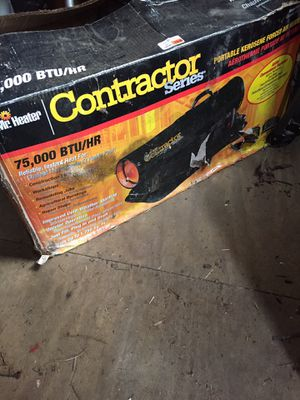 Contractor Portable Kerosene forced air heater for Sale in Stamford, CT
