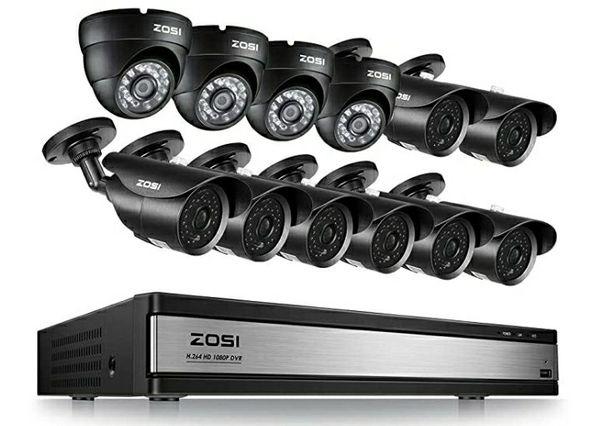 ZOSI DVR!! 12 CAMS included