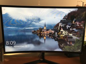 Computer monitor 27 inch curved Samsung for Sale in OH, US