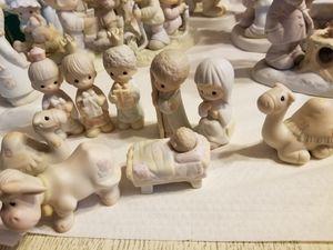 Precious moments Nativity set 9 pcs for Sale in Buena Park, CA