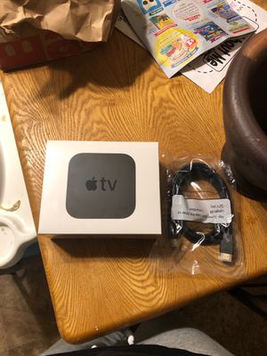 Newest Apple TV 4K 32 gb for Sale in Federal Way, WA