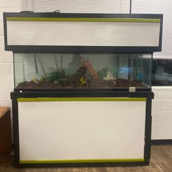 125 Gallon Fish Tank Brand New Pumps Works Fine Just Need To Get Rid Of It ASAP for Sale in Oklahoma City,  OK