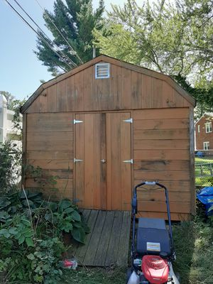14 X 10.5 Wood Shed for Sale in McDonogh, MD