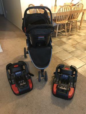 Britax stroller car seat set for Sale in Lubbock, TX