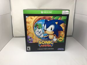 Sonic Mania Collector's Edition New in Box for Sale in Gilbert, AZ