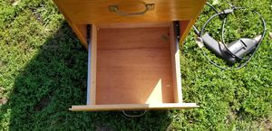 2 drawer wooden filing cabinet for Sale in Three Rivers, MI