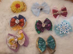 Disney Princess bows for Sale in San Antonio, TX