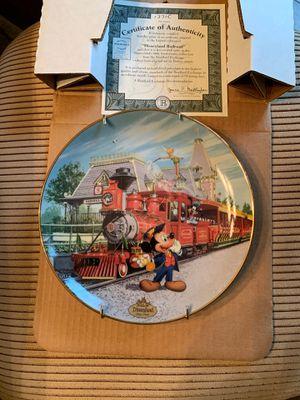 Disney's 40th anniversary edition collector's plate. Mickey/train for Sale in Wichita, KS