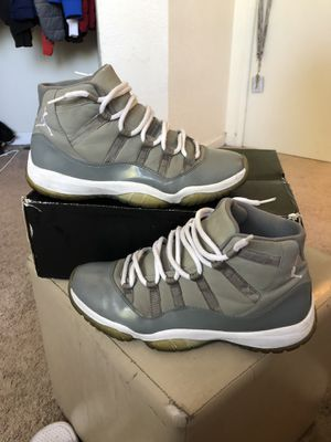 Size 10 air Jordan 11 cool grey for Sale in Pinole, CA