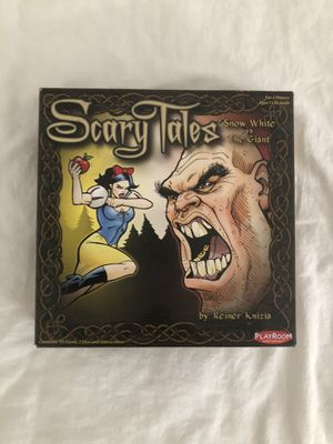 Scary Tales board game for Sale in West Hollywood, CA