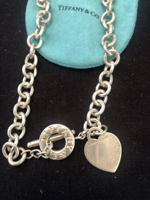 Tiffany & Co Toggle Heart Tag Necklace for Sale in Rancho Cucamonga, CA