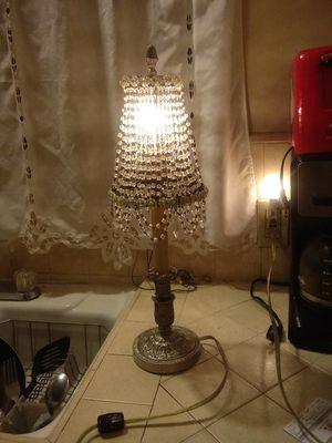 Silver chandelier lamp for Sale in Santa Fe Springs, CA