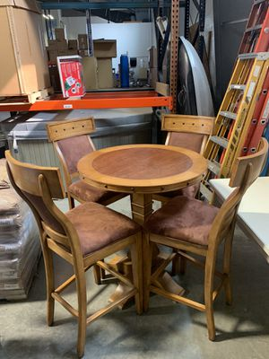 Chairs and table real wood for Sale in Cle Elum, WA