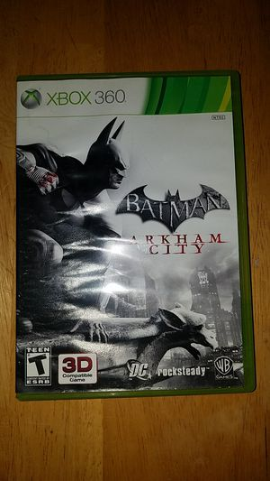 Batman Arkham City for xbox 360 for Sale in Oakland, CA