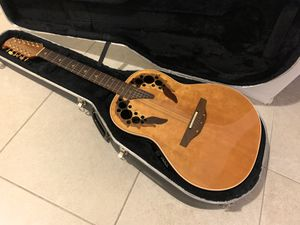 1992 Ovation USA 1758 Elite 12-String Acoustic/Electric Guitar for Sale in West Carson, CA