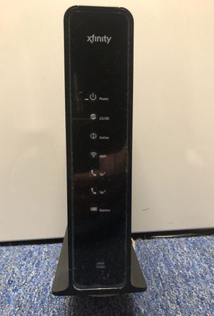 Motorola Arris TG862G/CT Cable Modem and wireless router with phone line . for Sale in Oaklyn, NJ