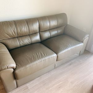 Leather Sofa Couch for Sale in Goodyear, AZ