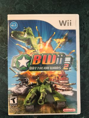 Battalion Wars 2! - Wii for Sale in Clayton, NC