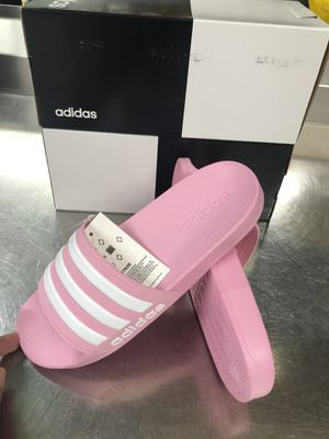 ADIDAS PINK SANDALS SIZE. 6 YOUTHS GIRLS for Sale in Jessup, MD