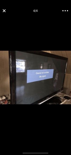 Like New condition 58inch Panasonic flat screen TV for Sale in Blacklick, OH
