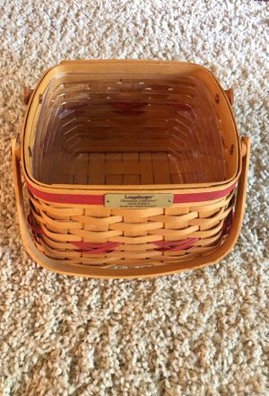 Longaberger Christmas Collection 2000 Edition -Deck the Halls Basket for Sale in Beaverton, OR