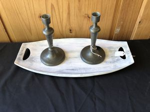 Rustic Metal decorative tray for Sale in Clovis, CA