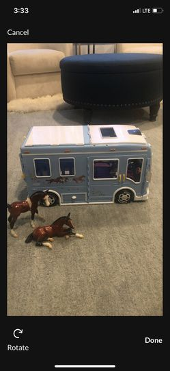 Toy camper and two horses trailer. Breyerbrand for Sale in Battle Ground,  WA