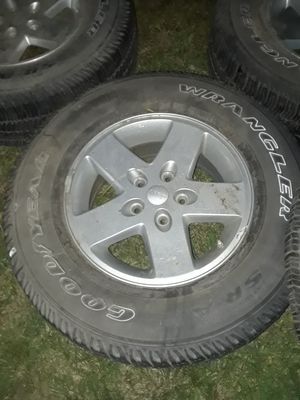 Jeep rims and tires for Sale in Revere, MA