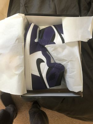 Jordan 1 Purple size 12 for Sale in Powder Springs, GA