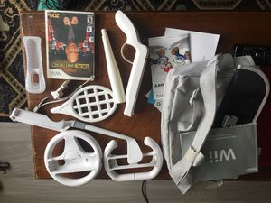 Wii accessories and one game for Sale in Charlottesville, VA