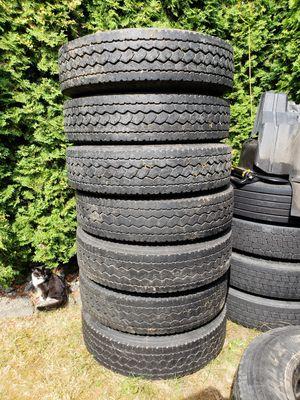 Semi Truck Aluminum Wheels, Tires for Sale in Everett, WA