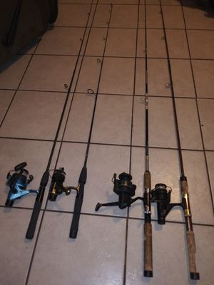 Fishing Rods & Reels for Sale in Fresno, CA