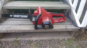 "Craftsman 16"" 3.5 hp chainsaw for Sale in Snohomish, WA"