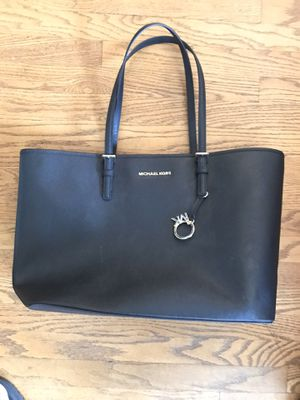 Michael Kors purse large black tote bag womens ladies girls for Sale in Monrovia, CA