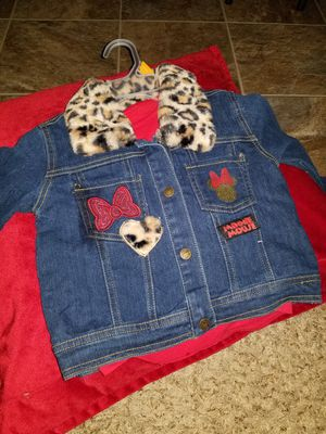 Mickey's mouse blue Jean jacket and shirt set for Sale in St. Cloud, MN