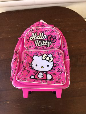 Hello Kitty wheels Backpack for Sale in Rancho Cucamonga, CA