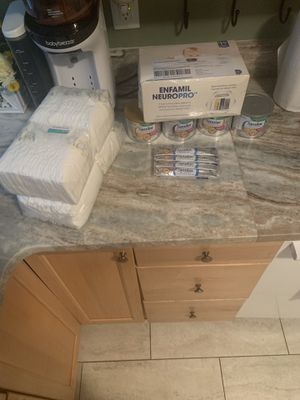 Baby formula and newborn diapers for Sale in Portsmouth, VA