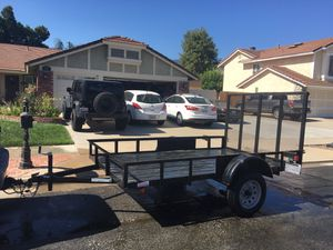 Utility trailer 6.5 by 10.3 for Sale in Corona, CA