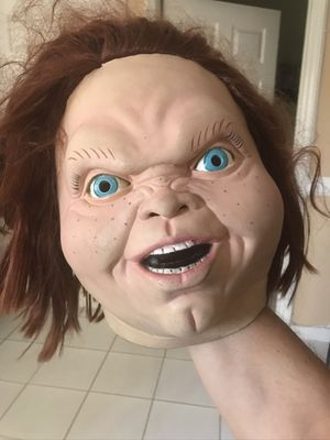 CULT CLASSIC Good Guy Doll Evil Chucky HALLOWEEN MASK $60 for Sale in Miami Lakes, FL