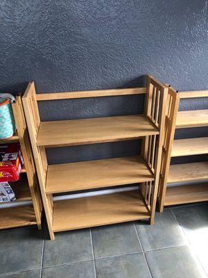 Bookshelves sold separate for Sale in Oakland, CA