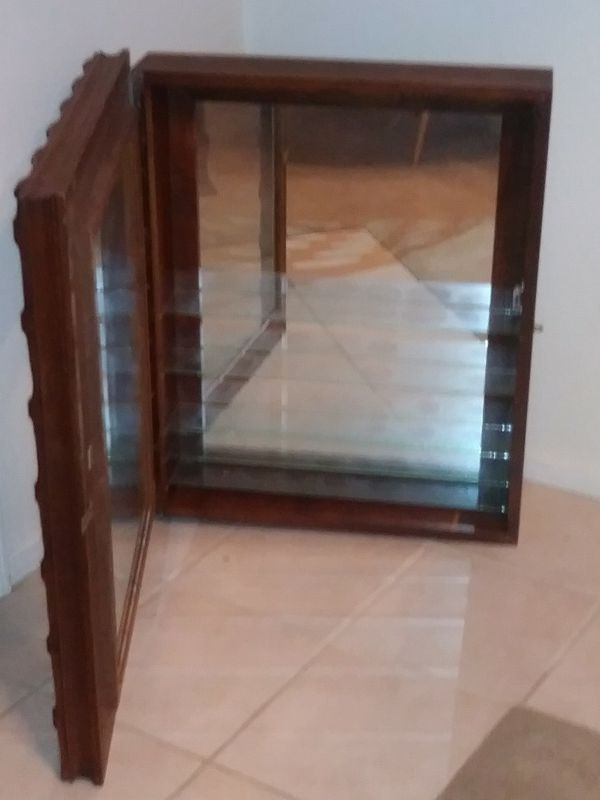 Wooden Glass Show Case