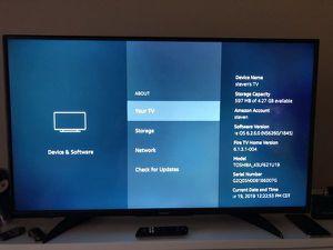 Insignia 43in Fire TV for Sale in Tacoma, WA