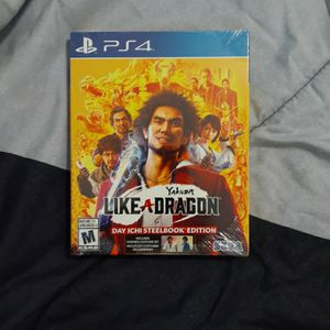 Yakuza: Like a Dragon - Day One Edition for PS 4 for Sale in Homestead, FL